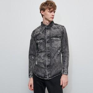 koszula jeansowa krótki rękaw stylowo i modnie z Allani