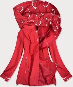 Czerwona kurtka Goodlookin.pl w stylu casual