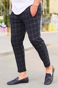 Granatowe spodnie Duuf