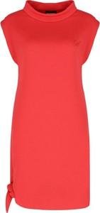 Sukienka Emporio Armani bez rękawów w stylu casual