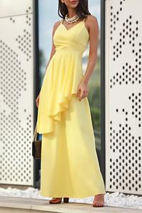 Żółta sukienka IVET