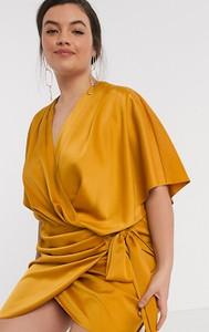 Żółta sukienka Asos
