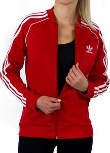 Czerwona bluza dziecięca Adidas