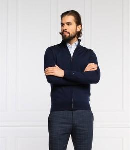 Sweter Tommy Tailored w stylu casual ze stójką