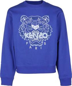 Sweter Kenzo w młodzieżowym stylu z okrągłym dekoltem