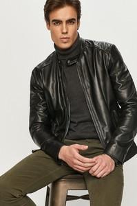 Czarna kurtka Bomboogie krótka w stylu casual