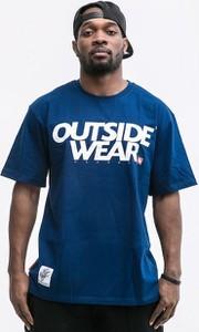 T-shirt Outsidewear z bawełny z krótkim rękawem