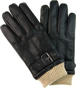 Czarne rękawiczki Em Men`s Accessories