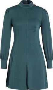 Zielona sukienka Marciano z golfem
