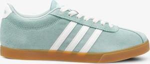 Trampki Adidas w sportowym stylu z płaską podeszwą niskie