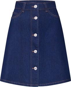 Niebieska spódnica Noisy May w stylu casual mini
