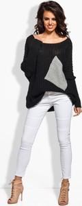 Czarny sweter Lemoniade w stylu casual