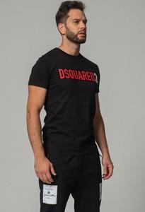 T-shirt Dsquared2 z bawełny