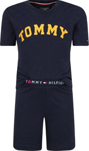 Niebieska piżama Tommy Hilfiger dla chłopców