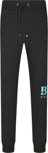 Czarne spodnie sportowe Boss z dresówki