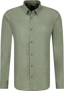 Koszula Armani Jeans z lnu