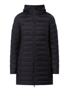 Czarny płaszcz Montego