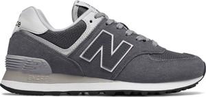 Buty sportowe New Balance sznurowane z płaską podeszwą w street stylu