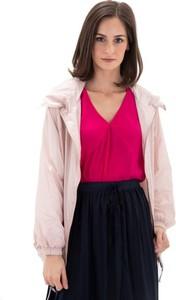 Różowa kurtka Adidas