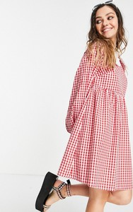 Sukienka Vintage Supply w stylu casual z dekoltem w kształcie litery v mini