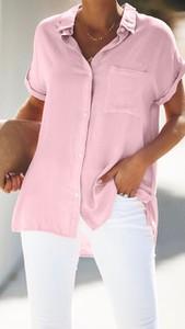 Koszula noshame w stylu casual z krótkim rękawem