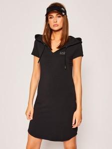 Sukienka Emporio Armani w stylu casual prosta mini