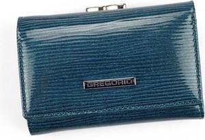 Niebieski portfel Pellucci