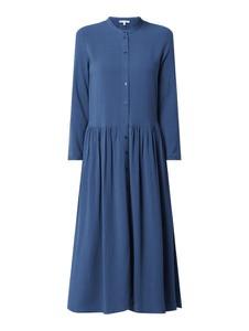 Sukienka Jake*s Casual z okrągłym dekoltem z długim rękawem maxi