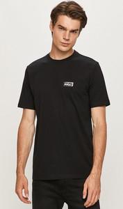 T-shirt Hugo Boss z dzianiny