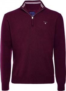 Sweter Gant ze stójką z wełny w stylu casual