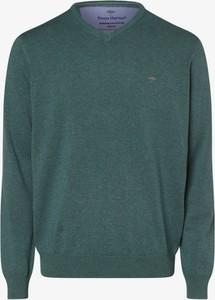 Zielony sweter Fynch Hatton w stylu casual