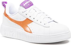 Buty sportowe Diadora ze skóry ekologicznej