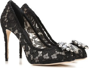 Czarne szpilki Dolce & Gabbana