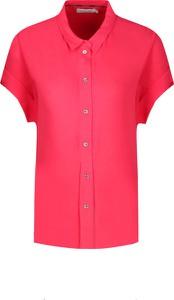 Koszula Calvin Klein z kołnierzykiem z krótkim rękawem