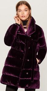 Fioletowa kurtka Mohito w stylu casual
