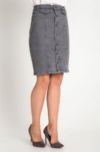 Spódnica QUIOSQUE z jeansu w stylu casual