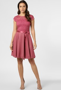 Sukienka Swing rozkloszowana mini z krótkim rękawem