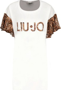 Sukienka Liu-Jo z okrągłym dekoltem w stylu casual