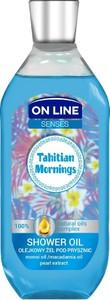 On Line, Senses, olejkowy żel pod prysznic, Tahitian Morning, 500 ml