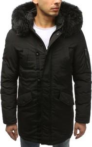Brązowa kurtka Dstreet z bawełny w stylu casual