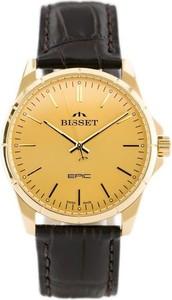 ZEGAREK MĘSKI BISSET BSCE35 (zb052a) - Złoty || Brązowy