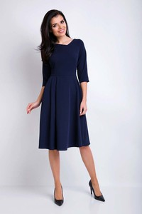 Sukienka Awama z długim rękawem