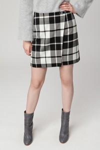 Spódnica Solar mini w stylu casual z tkaniny