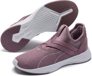 Fioletowe buty sportowe Puma w sportowym stylu