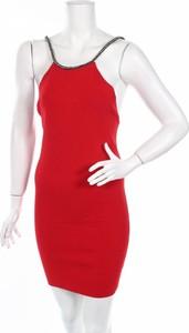 Czerwona sukienka Gdc prosta bez rękawów