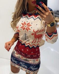 Sukienka Kendallme z długim rękawem mini w stylu casual