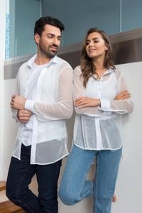 Koszula Veva z długim rękawem