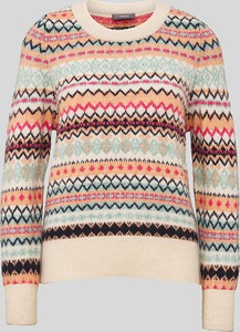 Sweter YESSICA z nadrukiem w stylu casual