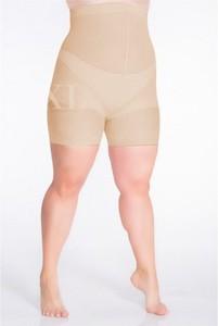 Sklep XL-ka Beżowe majtki wyszczuplające brzuch i biodra 3 (162-170 cm) size + (110-140 cm)