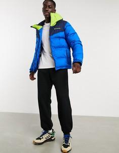 Granatowa kurtka Columbia w sportowym stylu krótka